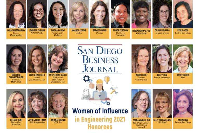 Women of Influence in Engineering Awardee: Sandy Houck
